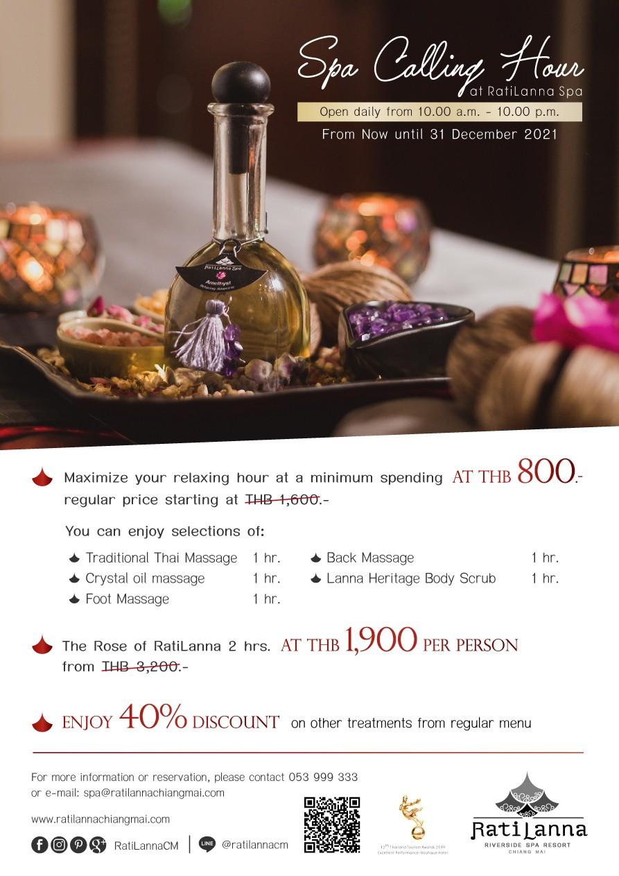 Ratilanna Riverside Spa Resort, Chiang Mai